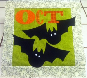October Count On It Block Art to Heart