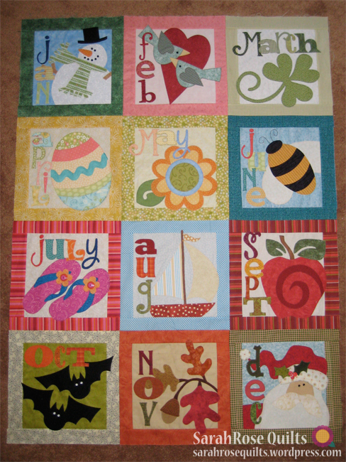 Count On It - BOM Quilt