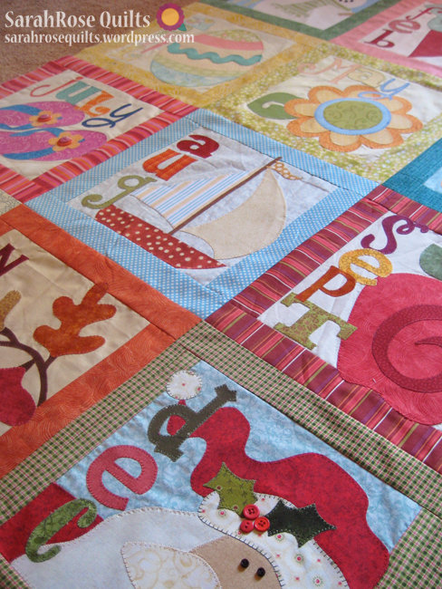 Count On It - BOM Quilt 2