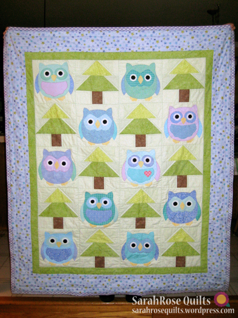 Owl Quilt - Whooo's There?