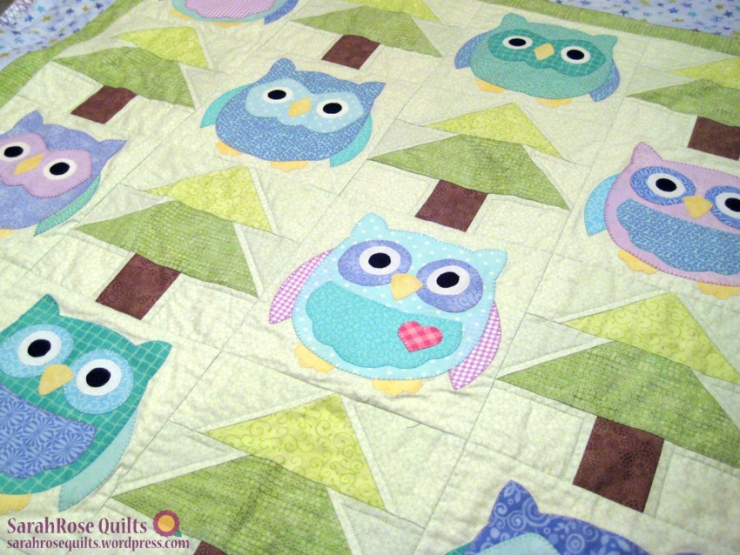 Owl Quilt 2 - Whooo's There?