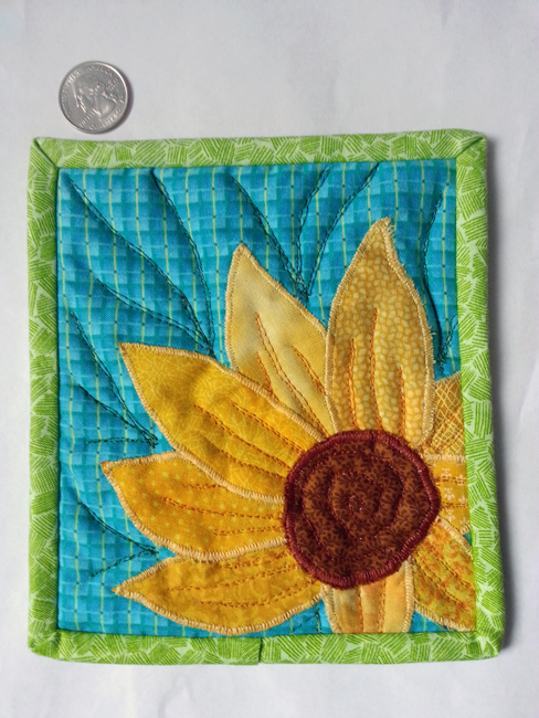 Pot Holder from Small Scraps