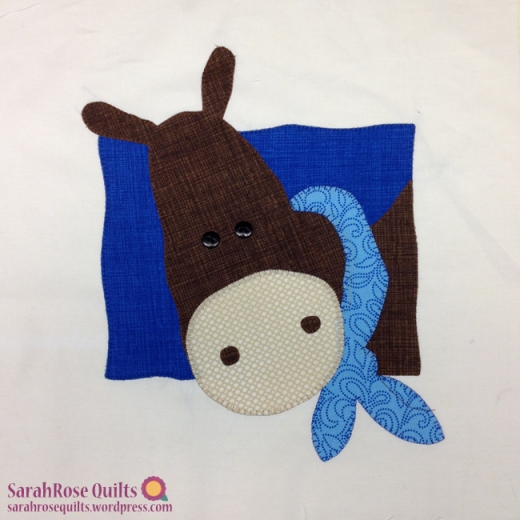 Animal Whimsy Block of the Month - SarahRose Quilts
