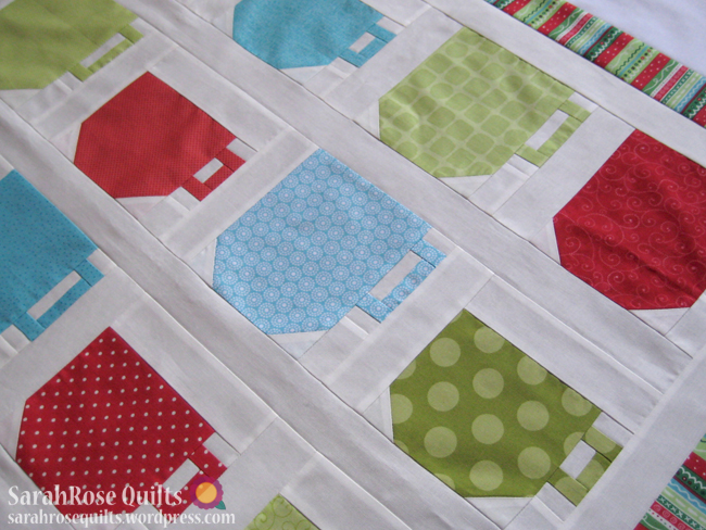Mugs and Teacups Quilt