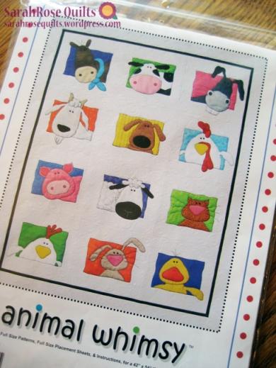 Amy Bradley Designs - Animal Whimsy Pattern