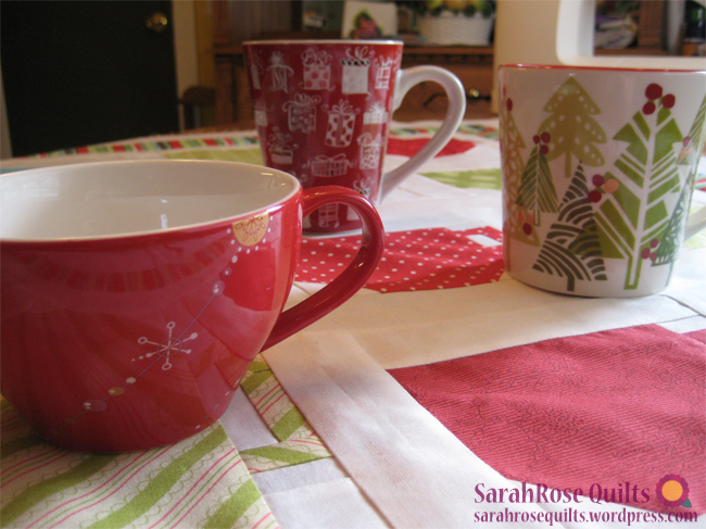 Festive Holiday Mugs and Teacups