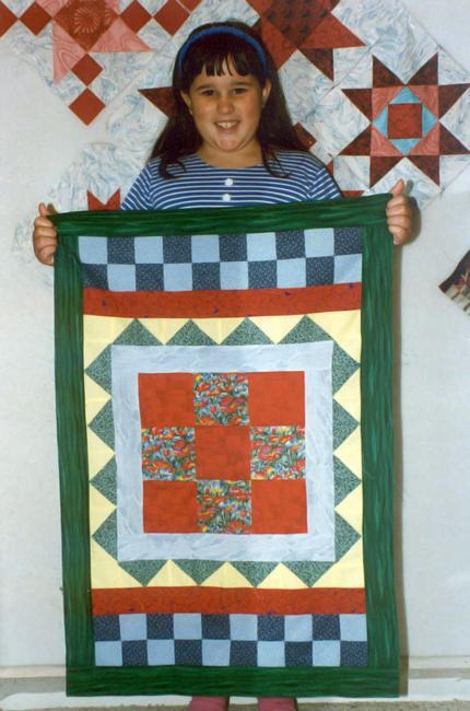 SarahRose First Quilt
