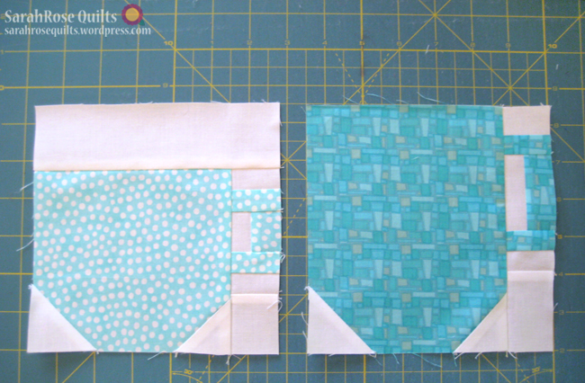 Mug and Teacup Quilt - Step 10