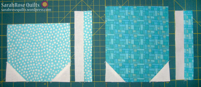 Mug and Teacup Quilt - Step 3