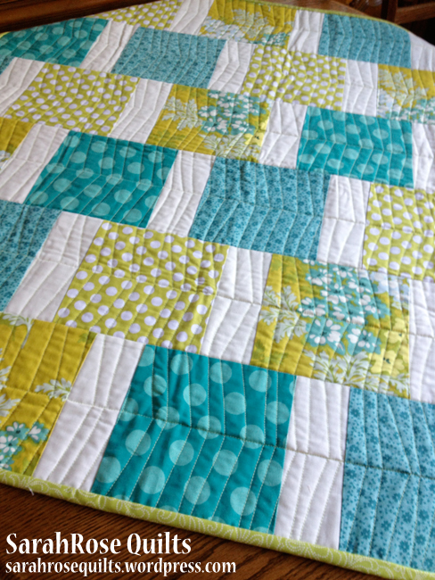 Pinterest Find Quick Quilt SarahRose Quilts Blog
