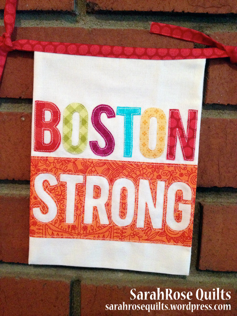Boston Strong Flag – To Boston with Love Project