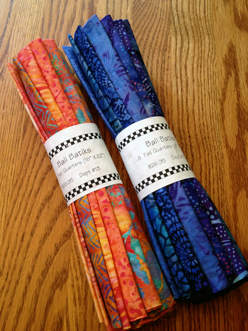 Batik Fabric Bundles