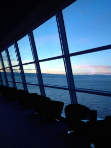 10pm in Alaska on cruise ship