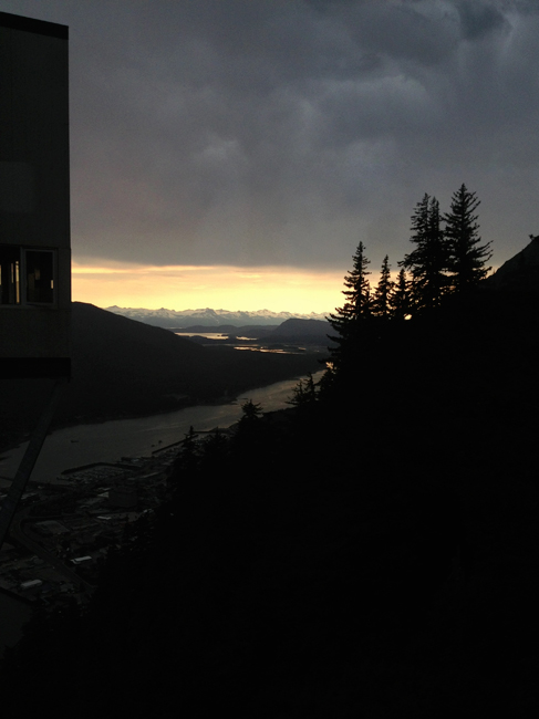 Storm Coming in Juneau