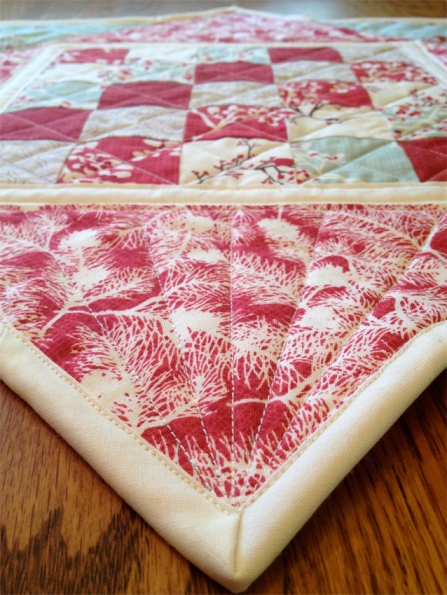 Winter Wonderland Christmas Table Topper Quilting